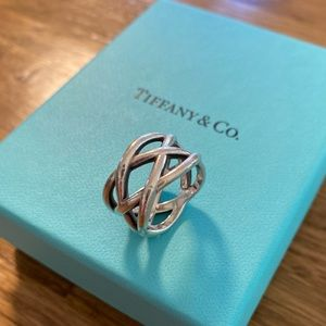 Authentic Tiffany & Co. Celtic Braided Knot Ring
